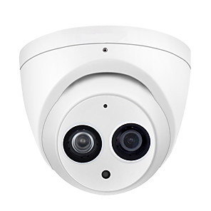 cheap Outdoor IP Network Cameras-Dahua 6MP Dome PoE IP Security Camera IPC-HDW4631C-A 2.8mm 3.6mm Lens 6 Megapixels Super HD Waterpfoof Home Video Surveillance Camera with Audio IR 30m ONVIF Night Vision