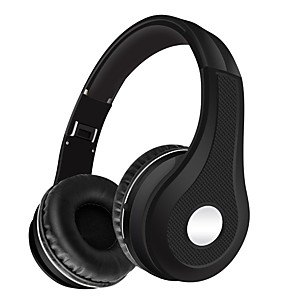 cheap On-ear & Over-ear Headphones-LITBest K5 Over-ear Headphone Bluetooth 4.2 with Microphone with Volume Control for Travel Entertainment