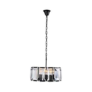 cheap Ceiling Lights-QINGMING® 4-Light 47 cm Pendant Light Metal Crystal Painted Finishes Vintage 110-120V / 220-240V