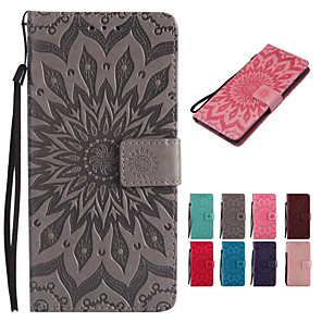 cheap iPhone Cases-Case For Apple iPhone XR / iPhone XS Max Wallet / Card Holder / with Stand Full Body Cases Solid Colored / Mandala Hard PU Leather for iPhone XS / iPhone XR / iPhone XS Max