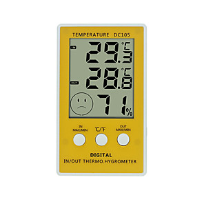 cheap Electrical & Tools-WINYS DC105 Portable Indoor Thermometer -10℃~90℃ Home life, Measuring temperature and humidity