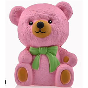 cheap Animal Action Figures-Animals Action Figure Bear Animals Stress and Anxiety Relief Relieves ADD, ADHD, Anxiety, Autism PORON Teenager Adults' Party Favors, Science Gift Education Toys for Kids and Adults