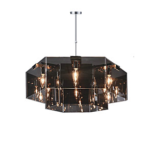 cheap Candle-Style Design-QINGMING® 6-Light 63 cm Designers Chandelier Metal Painted Finishes Rustic / Lodge 110-120V / 220-240V