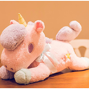 cheap Stuffed Animals-Stuffed Animal Talking Stuffed Animals Plush Toy Plush Toys Plush Dolls Stuffed Animal Plush Toy Unicorn Animals Talking Lovely Cotton / Polyester Goose Feather Imaginative Play, Stocking, Great