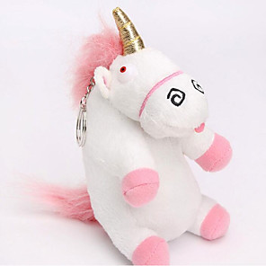 cheap Stuffed Animals-Unicorn Stuffed Animal Plush Toy Animals Lovely Comfy Cotton / Polyester All Perfect Gifts Present for Kids Babies Toddler
