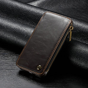 cheap iPhone Cases-Case For Apple iPhone 6s / iPhone 6 Wallet / Card Holder / Shockproof Full Body Cases Solid Colored Hard PU Leather