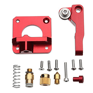 cheap 3D Printer Parts & Accessories-Upgrade Aluminum Extruder Drive Feed Frame for Creality Ender 3 3D Printer