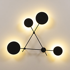 cheap Indoor Wall Lights-UMEI™ Creative / New Design LED / Modern Contemporary Flush Mount wall Lights Shops / Cafes / Office Metal Wall Light 110-120V / 220-240V 6 W