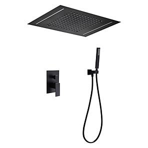 povoljno Kuhinjski sudoperi-termostatski set za slavinu za upravljanje tušem - kišni tuš suvremeni oslikani završni slojevi zidni keramički ventil tuš kada mješalice za tuš / mesing