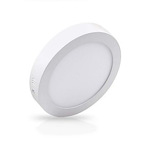 cheap LED Recessed Lights-ZDM 12W 1000lm Surface Mount Led Ceiling Light Round Flat LED Ceiling Lightinglent Cold White Warm White AC85-265V Office Living Room / Dining Room Commercial