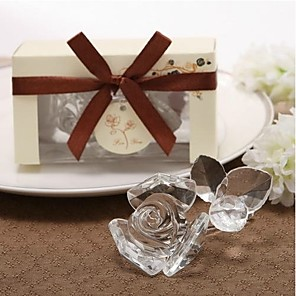cheap Practical Favors-Glasses Flower Style / Love Coaster Favors - 1 pcs Piece/Set Wedding / Friends All Seasons