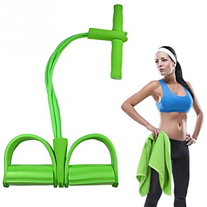 cheap Fitness Gear & Accessories-Exercise Resistance Bands Composite Resistance Training Yoga Fitness Workout For Unisex Body Part