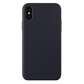 cheap iPhone Cases-Case For Apple iPhone XS / iPhone XR / iPhone XS Max Shockproof / Ultra-thin / Frosted Back Cover Solid Colored Hard PC