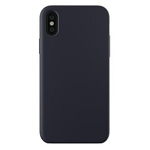 זול מגנים לאייפון-מגן עבור Apple iPhone XS / iPhone XR / iPhone XS Max עמיד בזעזועים / אולטרה דק / מזוגג כיסוי אחורי אחיד קשיח PC