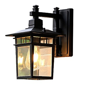 cheap Indoor Wall Lights-Cool Retro Wall Lamps & Sconces Bedroom Metal Wall Light 220-240V 40 W