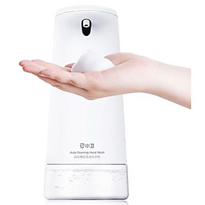cheap Cleaning Supplies-OEM xiaowei Auto-Induction Foam Washing Soap Dispenser Smart / water-resistant