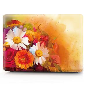 "cheap Mac Accessories-MacBook Case Flower PVC(PolyVinyl Chloride) for Macbook Pro 13-inch / Macbook Air 11-inch / New MacBook Air 13"" 2018"