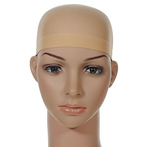 cheap Tools & Accessories-Tools & Accessories Nylon Wig Caps Hairnets Classic 1 pcs Daily Luxury / Classic Nude