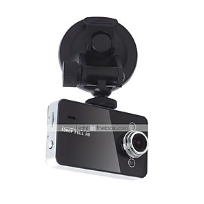 cheap Car DVR-K6000 1080p / Full HD 1920 x 1080 Car DVR 120 Degree Wide Angle 2.7 inch Dash Cam with HDR Car Recorder