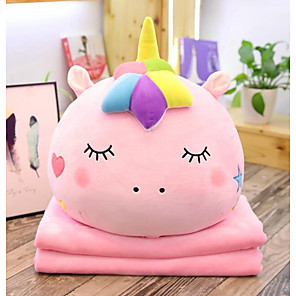 cheap Inflatable Ride-ons & Pool Floats-2 pcs Stuffed Animal Plush Toys Plush Dolls Stuffed Animal Plush Toy Unicorn Animals Lovely Comfy Cotton / Polyester Goose Feather Imaginative Play, Stocking, Great Birthday Gifts Party Favor Supplies