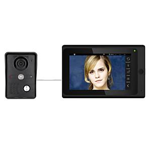 cheap Men's Oxfords-7inch Wireless/Wired Wifi IP Video Door Phone Doorbell Intercom  System with Support Remote APP unlockingRecordingSnapshot