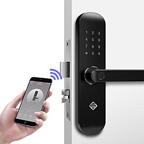 cheap Door Locks-PINEWORLD Q202 Aluminium alloy lock / Password lock / Fingerprint Lock Smart Home Security iOS / Android System Sound adjustable / Fingerprint unlocking / Password unlocking Household / Home / Home