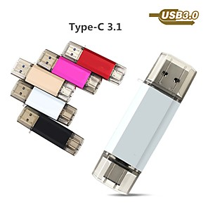 cheap USB Flash Drives-Ants 32GB usb flash drive usb disk USB 3.0 / Type-C Metal Shell irregular Covers
