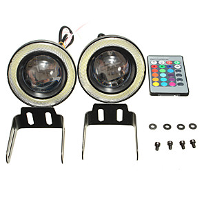 cheap Motorcycle Lighting-2pcs Motorcycle / Car Light Bulbs 10 W 3200 lm LED Fog Lights For Volkswagen / Toyota / Benz All Models All years