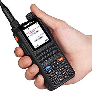 cheap Walkie Talkies-HELIDA CP-UV2000 Color Display Walkie Talkie 5W VHF/UHF Tri-Band 136-174/200-260/400-520MHz 128CH Handheld Two Way Radio