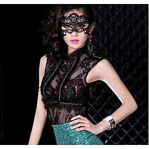 cheap Party Supplies-Event / Party Party Accessories Masks Bandage / Solid Lace Fashion / Creative