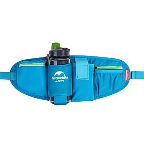 cheap Running Bags-Naturehike 5 L Hiking Waist Bag Multifunctional Breathable Rain Waterproof Fast Dry Outdoor Hiking Camping Travel Mesh Nylon Red Blue Grey