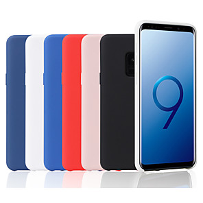cheap Samsung Case-Case For Samsung Galaxy S9 / S9 Plus / S8 Plus Frosted Back Cover Solid Colored Soft Silicone