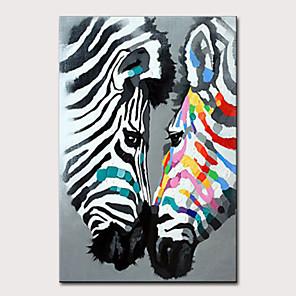 hesapli Yağlı Boyalar-Hang-Boyalı Yağlıboya Resim El-Boyalı - Soyut Pop Art Modern Iç çerçeve olmadan