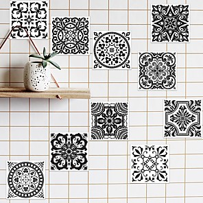 cheap Wall Stickers-1 Packed 10 Pieces Removable Wall Sticker for Kitchem/Bathroom