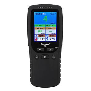 cheap Level Measuring Instruments-DM106 Air Quality Tester PM2.5 Detector Air Quality Testing Instrument Formaldehyde Tester