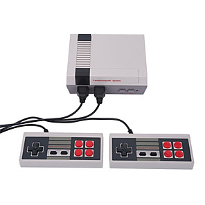 cheap Game Consoles-Mini TV Handheld Family Recreation Video Game Console AV Port Retro Built-in 500 Classic Games Dual Gamepad Gaming Player