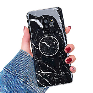 cheap Samsung Case-Case For Samsung Galaxy S9 / S9 Plus / S8 Plus with Stand / IMD Back Cover Marble Soft TPU