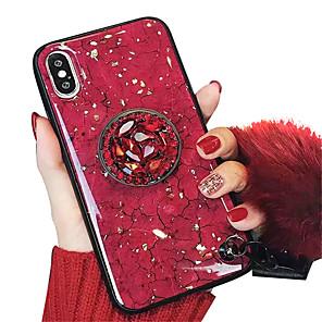povoljno iPhone maske-Θήκη Za Apple iPhone XS / iPhone XR / iPhone XS Max sa stalkom / IMD / Uzorak Stražnja maska Mramor Mekano TPU
