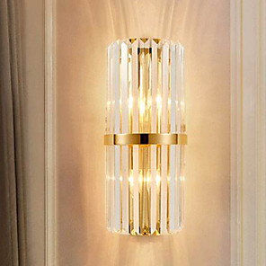 cheap Indoor Wall Lights-Creative Modern Contemporary Wall Lamps & Sconces Indoor Crystal Wall Light 220-240V 40 W