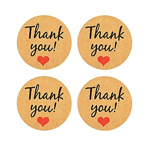cheap Gifts & Decorations-Wedding / New Baby / Birthday Stickers, Labels & Tags - 12 pcs Oval Stickers All Seasons