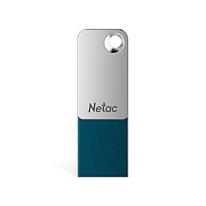 cheap TWS True Wireless Headphones-Netac 64GB usb flash drive usb disk USB 2.0 / Micro USB Aluminum-magnesium alloy Cuboid / Micro Encrypted / Capless / Geometric Pattern U329