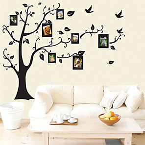 cheap Wall Stickers-Decorative Wall Stickers - Plane Wall Stickers Floral / Botanical Living Room / Bedroom / Bathroom
