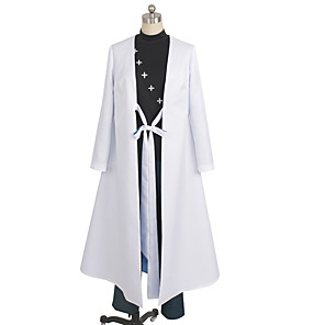 cheap Anime Costumes-Inspired by Cosplay Cosplay Anime Cosplay Costumes Japanese Cosplay Suits Solid Colored Top Pants Cloak For Men's Women's