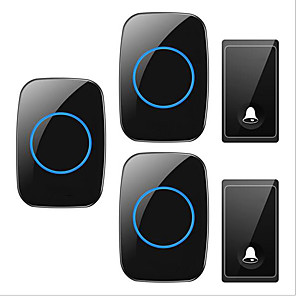 cheap Doorbell Systems-Wireless Two to Three Doorbell Music / Ding dong Non-visual doorbell