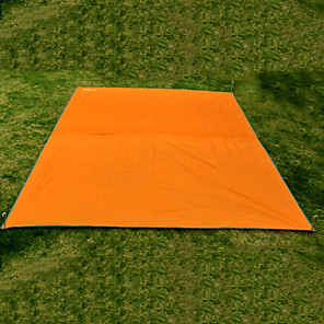 cheap Sleeping Bags & Camp Bedding-Picnic Blanket Tent Tarps Hammock Rain Fly Outdoor Multifunctional Portable Rain Waterproof Moistureproof Oxford Cloth 220*146 cm Camping Mountaineering Picnic Autumn / Fall Spring Summer Orange Army