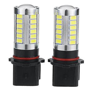 cheap Car Fog Lights-2pcs P13W Car Light Bulbs 5 W 500 lm 33 LED Fog Lights / Daytime Running Lights For universal / Volkswagen / Toyota General Motors All years