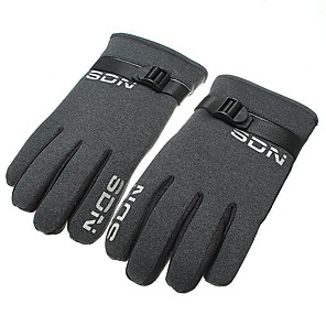 cheap Car Charger-Winter Antiskidding Windproof Warm Thickening Gloves For Riding Climbing Skiing