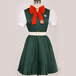 cheap Anime Costumes-Inspired by Danganronpa Sonia Nevermind Princess Anime Cosplay Costumes Japanese Cosplay Suits British Contemporary Cravat Top Skirt For Men's Women's