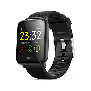 cheap Smartwatches-Q9 Smart Watch BT Fitness Tracker Support Notify/ Heart Rate Monitor Sports Smartwatch Compatible with iPhone/ Samsung/ Android Phones