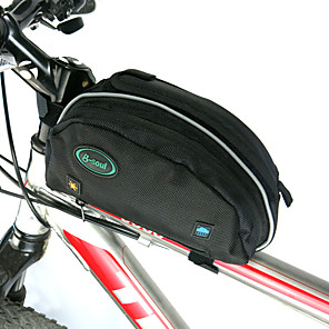 cheap Bike Frame Bags-B-SOUL 10 L Bike Frame Bag Rain Cover Portable Wearable Durable Bike Bag Oxford Bicycle Bag Cycle Bag Cycling Outdoor Exercise Bike / Bicycle